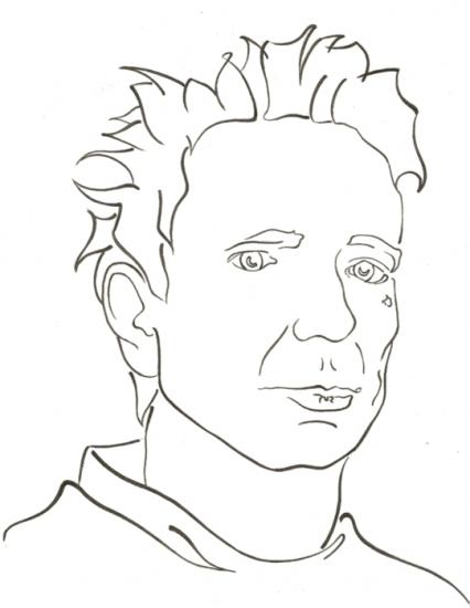 Johnny Rotten par wallflower-studios